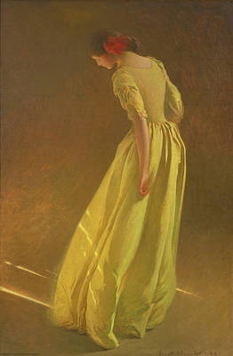 John White Alexander Painting - Sunlight by John White Alexander
