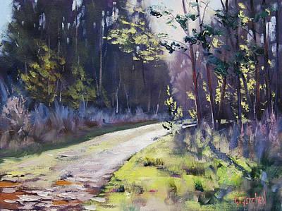 Sunlit Bend At Sunny Corner Original by Graham Gercken
