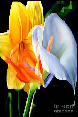 Art To Wear Digital Art - Sunny Bouquet  by Rafael Salazar