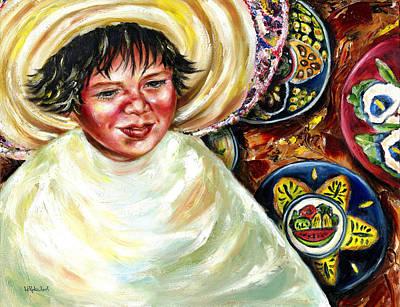 Poncho Painting - Sunny Day by Hiroko Sakai