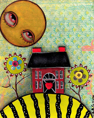Sunny Days Print by  Abril Andrade Griffith