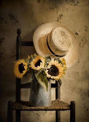 Sunny Inside Print by Robin-lee Vieira