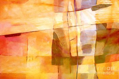 Hypnotic Painting - Sunny Scene by Lutz Baar