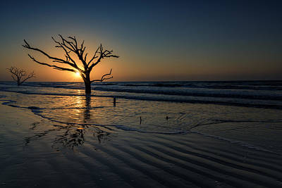 Edisto Photograph - Sunrise At Botany Bay by Rick Berk