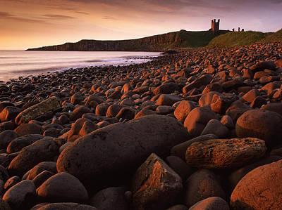 Dunstanburgh Photograph - Sunrise At Embleton Bay by John Perriment