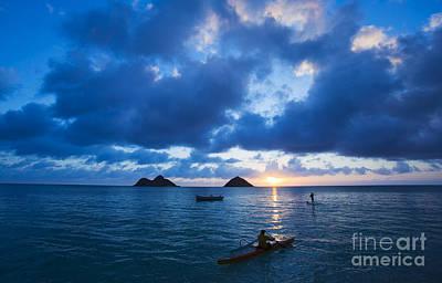 Sunrise At Lanikai Print by Dana Edmunds - Printscapes