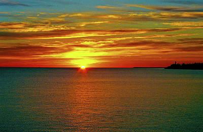 St. Laurent Photograph - Sunrise At Matane by Juergen Weiss