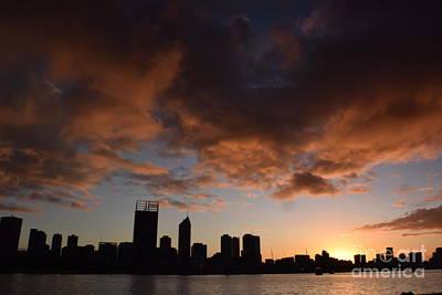 Sunset Photograph - Sunrise At Perth by Anna Iliescu