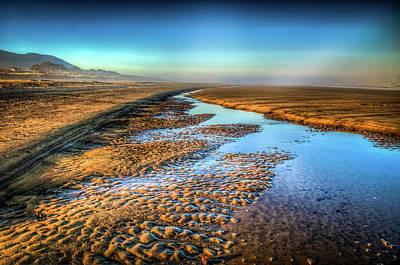 Sunrise At Rockaway Beach Oregon Print by Spencer McDonald