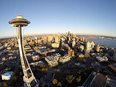 Seattle Sunrise Original by Austin Curran