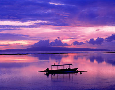 Bali Photograph - Sunrise Balisanur Indonesia by Panoramic Images