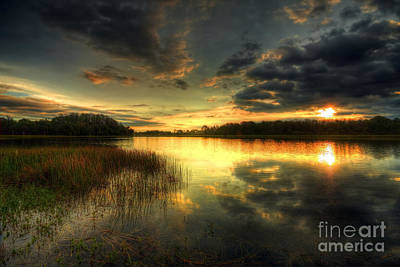Photograph - Sunrise Clouds  by Rick Mann