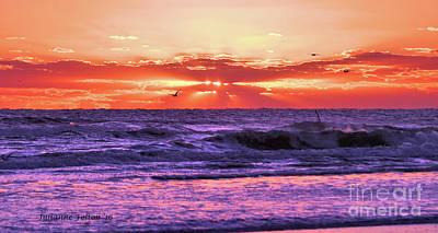 Photograph - Sunrise Dbshores,fl 10-23-16 by Julianne Felton