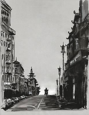 Sunrise In Chinatown Original by Masha Batkova