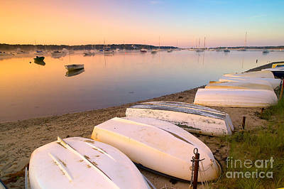 Sunrise In Osterville Cape Cod Massachusetts Print by Matt Suess