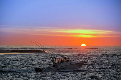 Photograph - Sunrise On The Atlantic by Bill Cannon