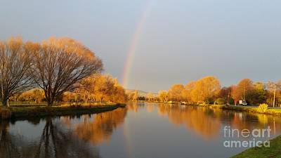 Photograph - Sunrise On The Avon River  by Joyce Woodhouse
