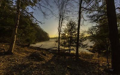 Sunrise Over Millsite Print by Everet Regal