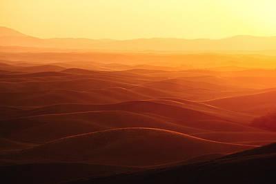 Sunrise Over Palouse Print by Todd Klassy