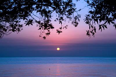 Arabia Photograph - Sunrise Over Sea by Shahbaz Hussain's Photos