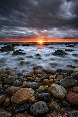 Montauk Photograph - Sunrise Over The East End by Rick Berk
