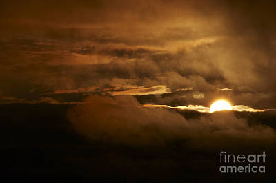Sunset After Storm Print by Michal Boubin