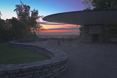 Creve Coeur Park Photograph - Sunset At Greensfelder by David Coblitz