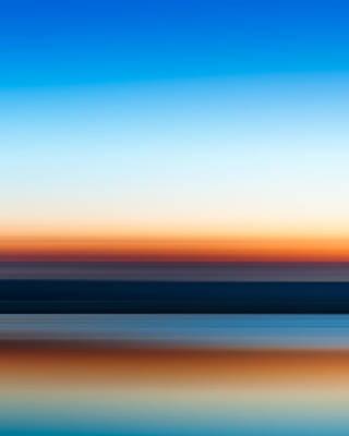 Sunset Abstract Photograph - Sunset At Ottawa Lake by Scott Norris