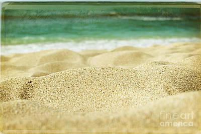 Sunset Beach Print by Sharon Mau