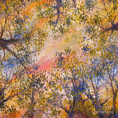 Sunset Canopy Print by Jim Rehlin