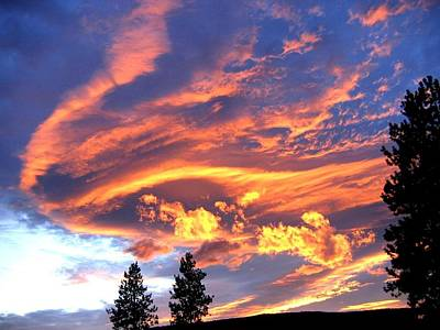 Sunset Extravaganza Print by Will Borden