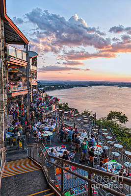 Austin Photograph - Sunset Glow by Tod and Cynthia Grubbs