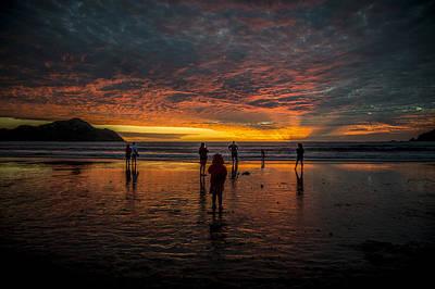 Mazatlan Photograph - Sunset In Mazatlan, Mexico by Bill Cubitt