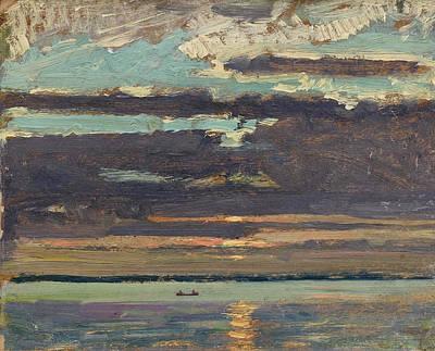 Painting - Sunset Lake Simcoe by James Edward Hervey MacDonald