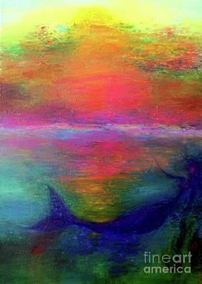 Sunset Original by Marketa Leva