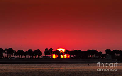 Sunset Print by Marvin Spates