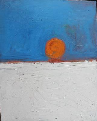 Sunset No. 11 Oil On Board 16 X 20 2008 Print by Radoslaw Zipper