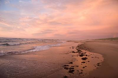 Natural Forces Photograph - Sunset On The Beach On Prince Edward by Taylor S. Kennedy