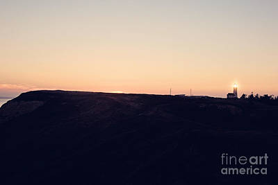 Sunset On The Cape Print by Scott Pellegrin