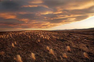 Sunset On The Ridge Original by James Steele