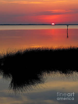 Sunset Photograph - Sunset Outer Banks Obx by Jeff Breiman