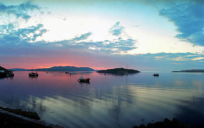 Sunset Over Iona Original by Jan Faul