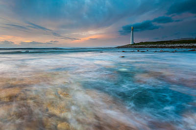 Seascape Photograph - Sunset Over Kommetje, South Africa by Alisa Timurzieva