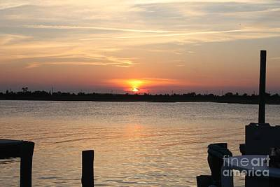 Photograph - Sunset Over Reynolds Channel In Point Lookout by John Telfer
