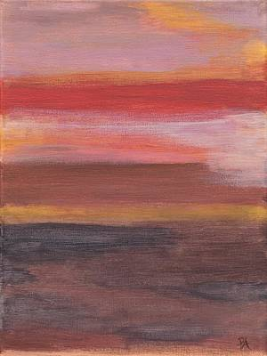 Sunset Print by Patricia Alexandra