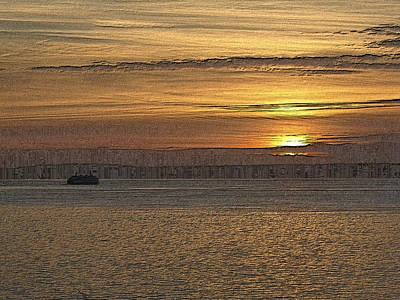 Sunset Serenade Print by Tim Allen