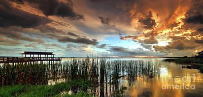 Photograph - Sunset Storm by Rick Mann