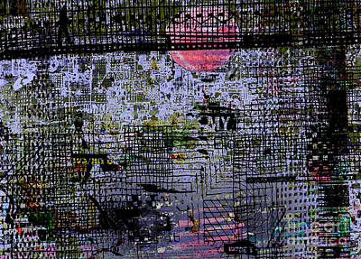 Sunset Abstract Photograph - Sunset Under The Bridge by Andy  Mercer