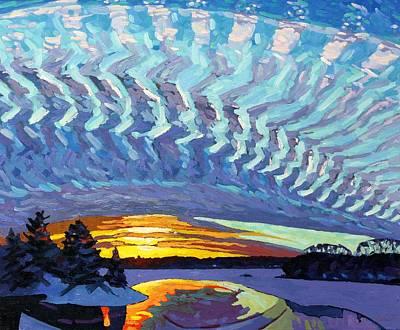 Sunset Waves Nite Original by Phil Chadwick