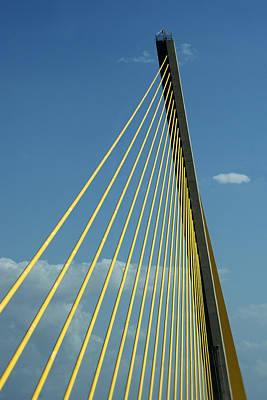 Sunshine Skyway Bridge - Color Print by Mitch Spence